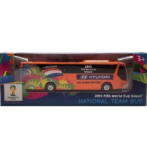 Miniatura Ônibus Hyundai Holanda Copa Do Mundo