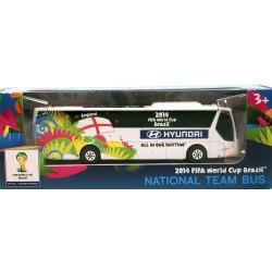 Miniatura Ônibus Hyundai Inglaterra Copa Do Mundo