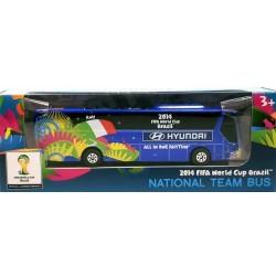 Miniatura Ônibus Hyundai Itália Copa Do Mundo
