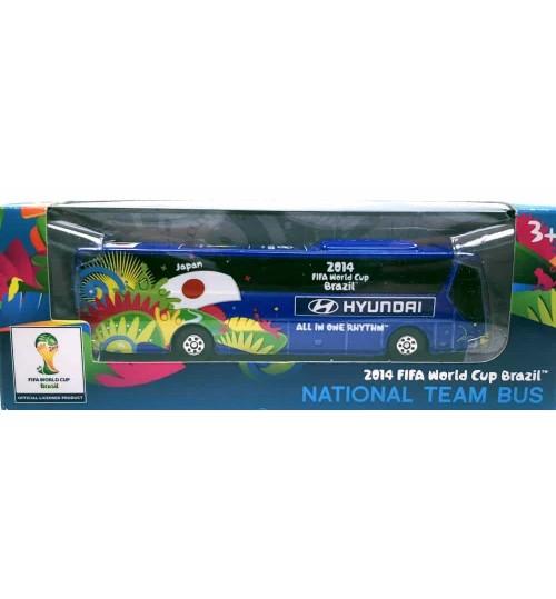 Miniatura Ônibus Hyundai Japão Copa Do Mundo