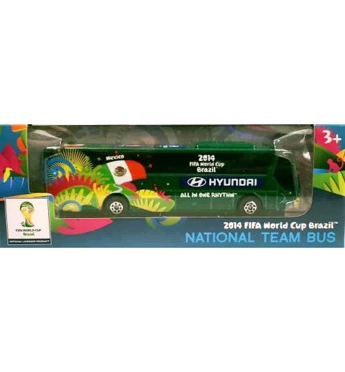 Miniatura Ônibus Hyundai México Copa Do Mundo