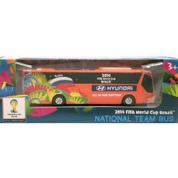 Miniatura Ônibus Hyundai Rússia Copa Do Mundo