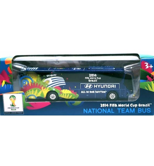 Miniatura Ônibus Hyundai Uruguai Copa Do Mundo