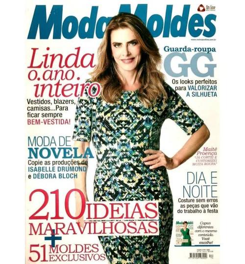 Revista Moda Moldes 210 Ideias Maravilhosas N° 74