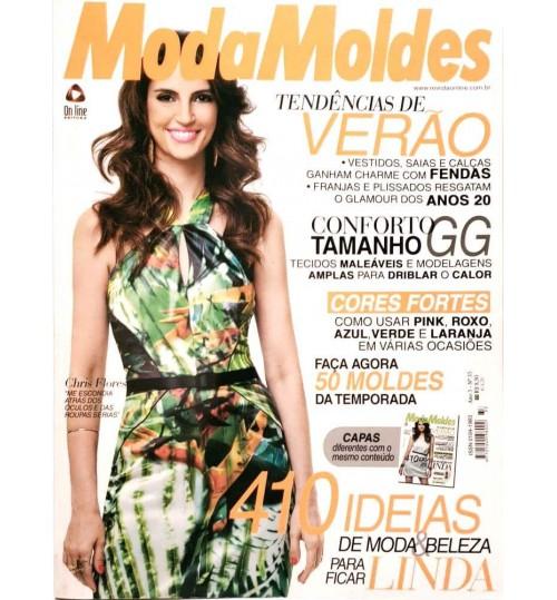 Revista Moda Moldes 410 Ideias de Moda e Beleza  N° 33