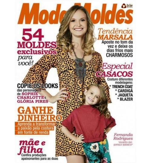Revista Moda Moldes 54 Moldes Exclusivos para Você Nº 73