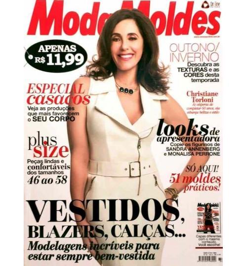 Revista Moda Moldes Vestidos, Blazers, Calças (Vestido Branco) Nº 84