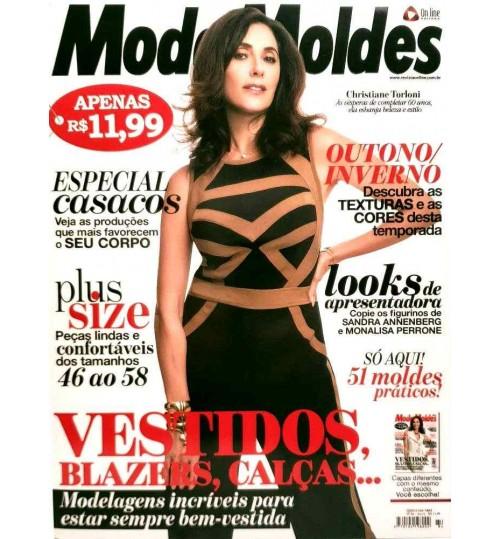 Revista Moda Moldes Vestidos, Blazers, Calças (Vestido Preto) Nº 84