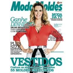 Revista Moda Moldes Vestidos Costure os Modelos Mais Desejados (Blusa Vermelha) N° 77