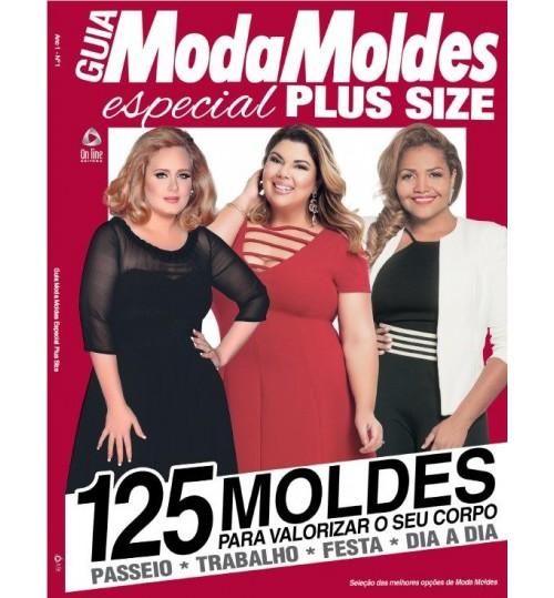 Revista Guia Moda Moldes Especial Plus Size 125 Moldes