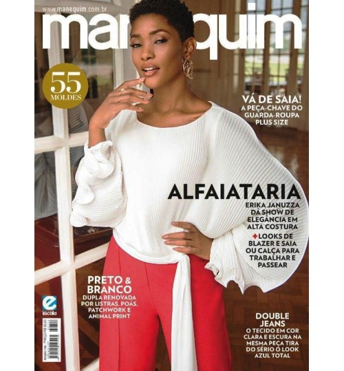 Revista Manequim Alfaiataria N° 728