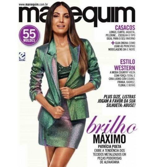 Revista Manequim Brilho Máximo, Blazer Nº 720