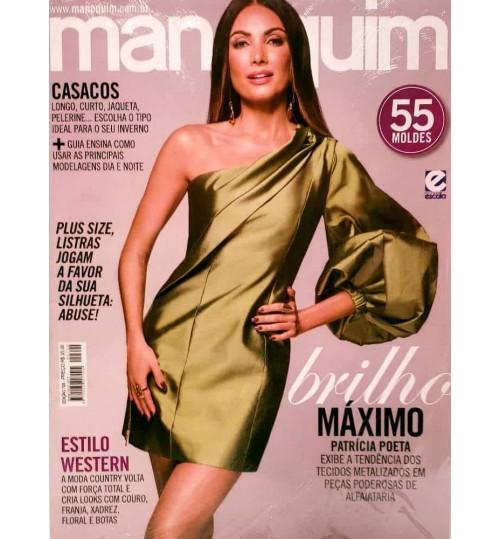 Revista Manequim Brilho Máximo, Vestido Verde Nº 720