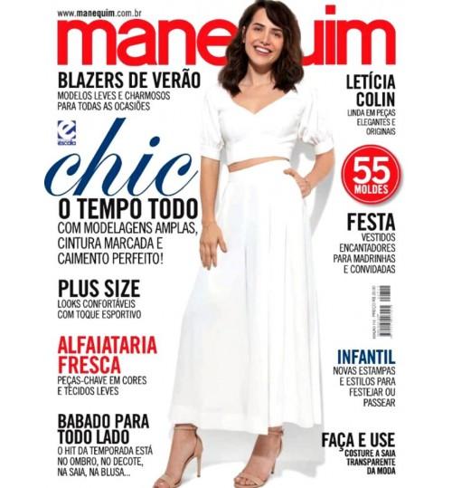 Revista Manequim Chic o Tempo Todo Nº 712