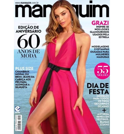 Revista Manequim Edição de Aniversário, 60 Anos de Moda Nº 722