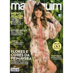 Revista Manequim Flores e Cores da Primavera N° 723