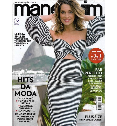 Revista Manequim Hit da Moda N° 727