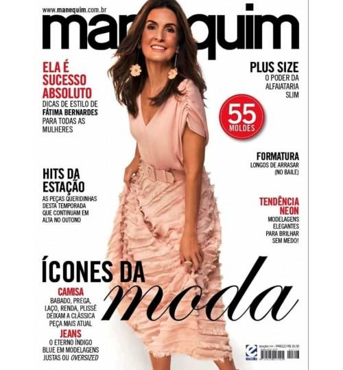 Revista Manequim Ícones da Moda N° 717