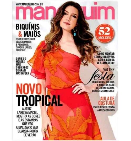 Revista Manequim Novo Tropical N° 704