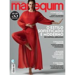 Revista Manequim O Estilo Sofisticado e Moderno de Sophia Abrahão N° 733
