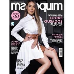 Revista Manequim Patrícia Poeta em Looks Ousados N° 732