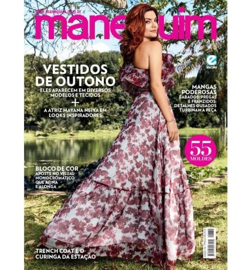 Revista Manequim Vestidos de Outono N° 730