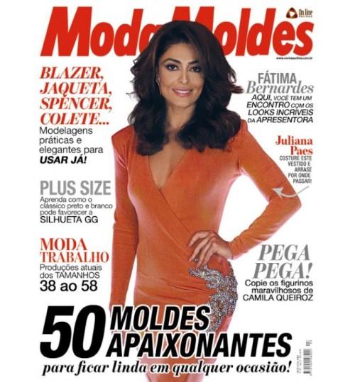 Revista Moda Moldes 50 Moldes Apaixonantes Nº 93