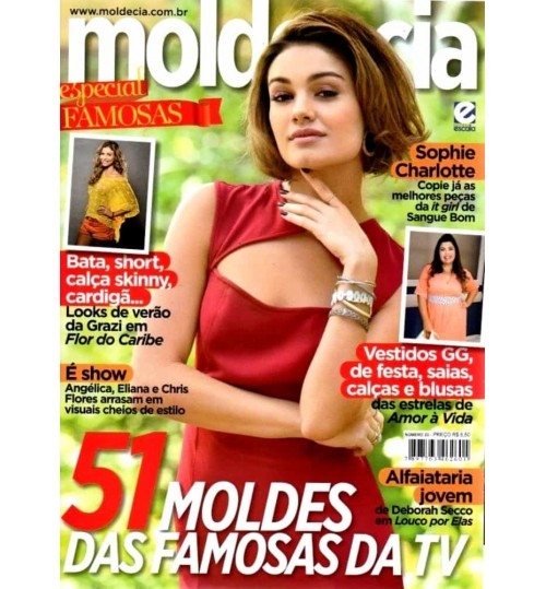 Revista Molde & Cia 51 Moldes das Famosas da TV Nº 22