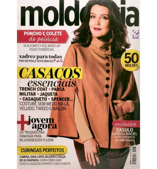 Revista Molde & Cia Cassacos Essenciais N° 113
