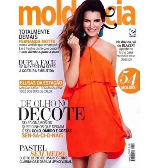 Revista Molde & Cia De Olho no Decote N° 119
