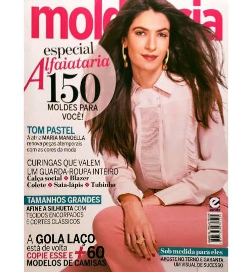 Revista Molde & Cia Especial Alfaiataria - 150 Moldes para Você N° 33