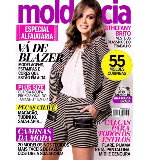 Revista Molde & Cia Especial Alfaiataria N° 31