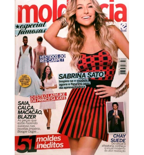 Revista Molde & Cia Especial Famosas N° 29
