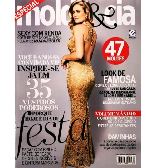 Revista Molde & Cia Porque Hoje é Dia de Festa N° 34