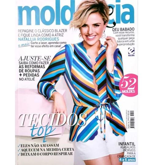 Revista Molde & Cia Tecidos Top (Blazer Azul) N° 120