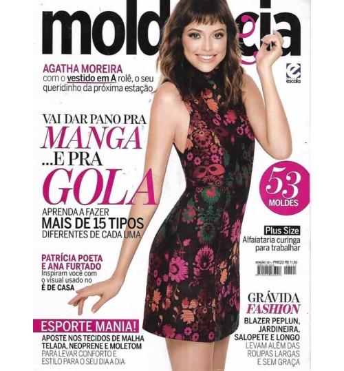 Revista Molde & Cia Vai dar Pano pra Manga e pra Gola N° 121