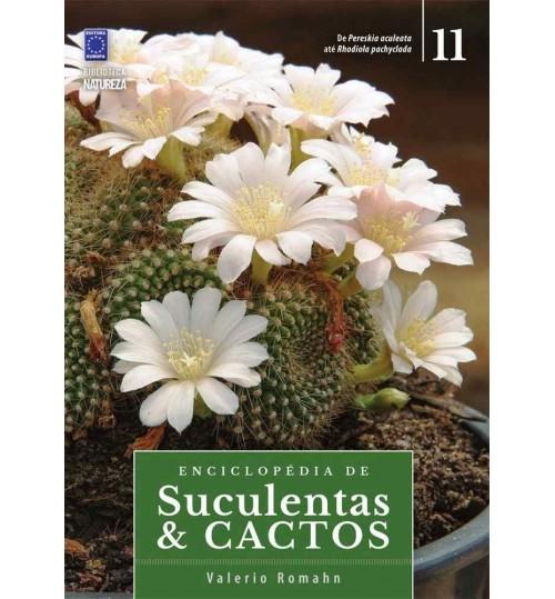 Livro Coleção Enciclopédia de Suculentas e Cactos - Volume 11