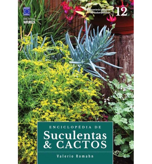 Livro Coleção Enciclopédia de Suculentas e Cactos - Volume 12
