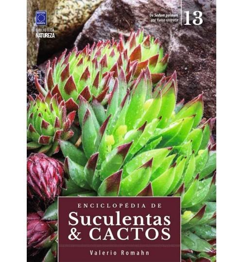 Livro Coleção Enciclopédia de Suculentas e Cactos - Volume 13