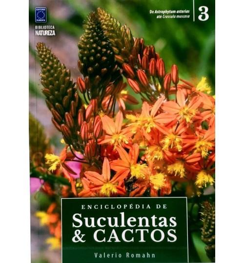 Livro Coleção Enciclopédia de Suculentas e Cactos - Volume 3
