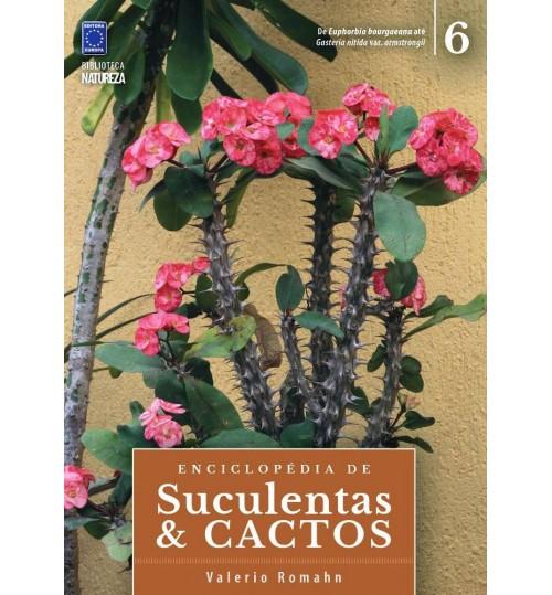 Livro Coleção Enciclopédia de Suculentas e Cactos - Volume 6