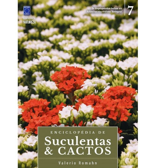 Livro Coleção Enciclopédia de Suculentas e Cactos - Volume 7