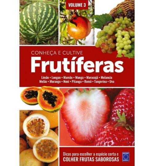Livro Frutíferas: Conheça e Cultive - Volume 3