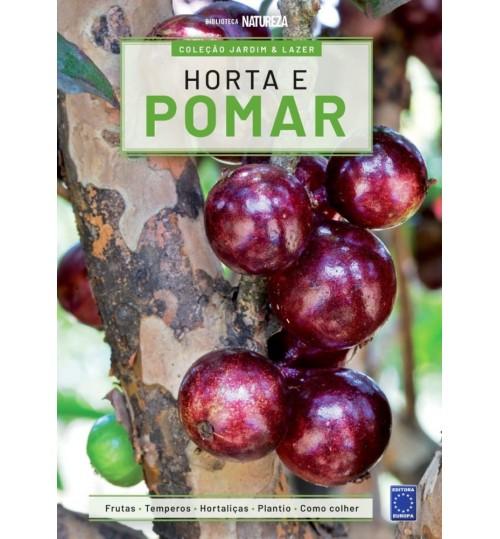 Livro Coleção Jardim e Lazer - Horta e Pomar