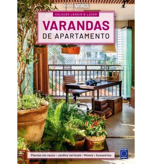 Livro Coleção Jardim e Lazer - Varandas de Apartamento