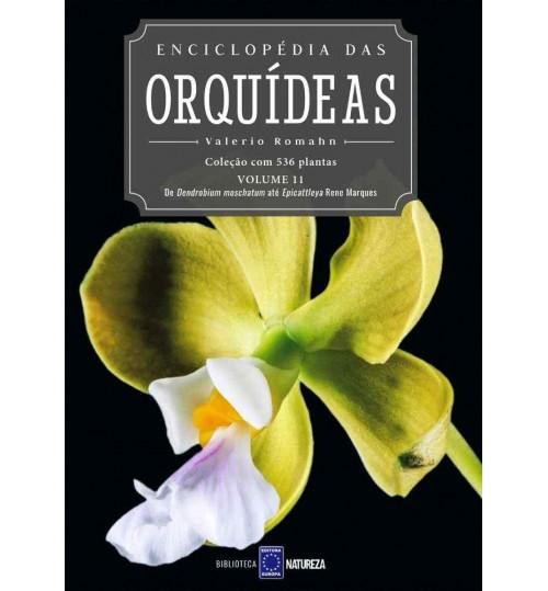 Livro Enciclopédia das Orquídeas Volume 11