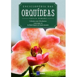 Livro Enciclopédia das Orquídeas Volume 19