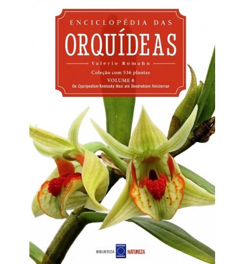 Livro Enciclopédia das Orquídeas Volume 8