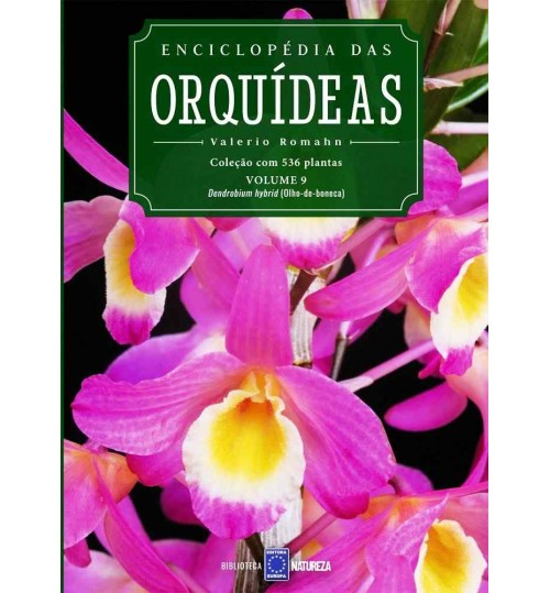 Livro Enciclopédia das Orquídeas Volume 9