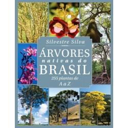 Livro �rvores Nativas do Brasil - 255 Plantas de A a Z